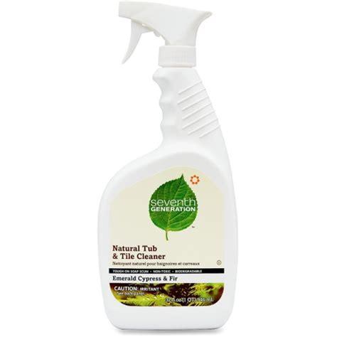 natural cleaner for bathtub seventh generation natural tub and tile cleaner sev22750