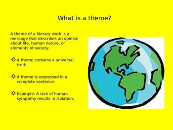 themes in literature test 2 themes in literature by kimberly dana teachers pay teachers