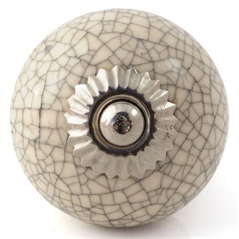 Crackle Glaze Door Knobs by With Black Crackle Glaze Knob