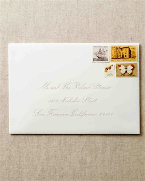 wedding invitations addressing how to address guests on wedding invitation envelopes martha stewart weddings