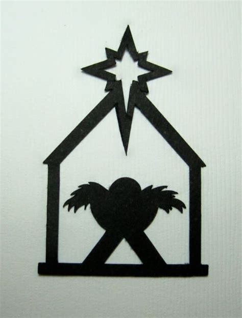 nativity silhouette template search results for nativity silhoulette clip