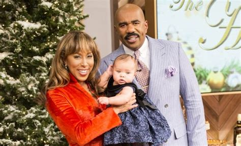 lori harvey real name marjorie harvey and steve with granddaughter rose during