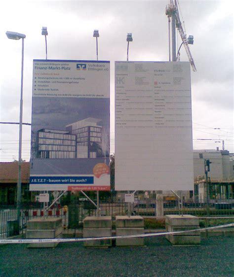 Bauschild Anlage by Bauschilder Bauwerbeschilder