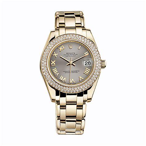 rolex pearlmaster 34 81338 gold steel world s best