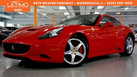 electronic stability control 2009 ferrari california electronic toll collection used convertible models warrenville ultimo motors