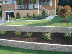 retaining wall installation by woehler landscaping serving the pittsburgh area