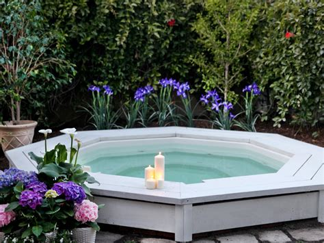 backyard hot tubs sexy hot tubs and spas outdoor spaces patio ideas