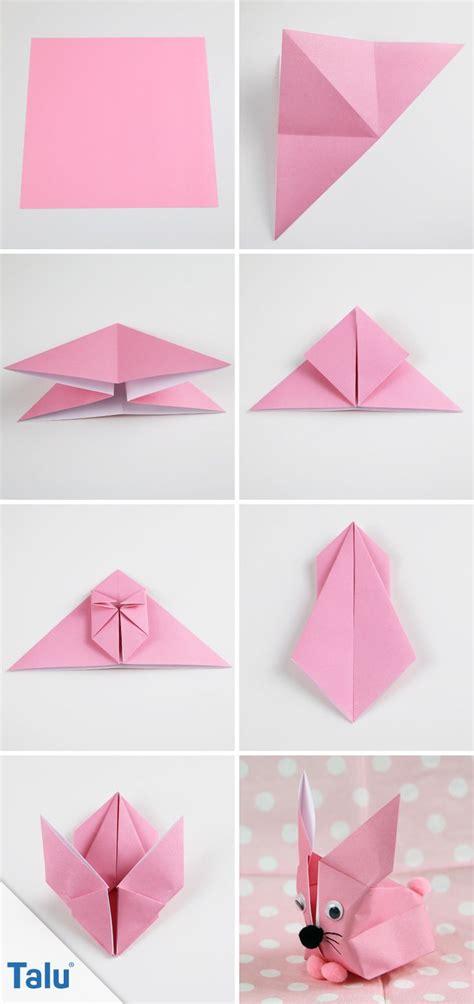 Origami Hase Faltanleitung by Die Besten 17 Ideen Zu Origami Hase Auf