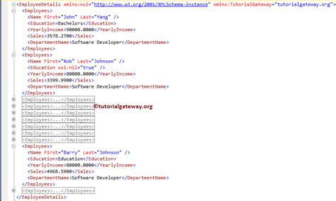 sql xml query tutorial sql for xml path
