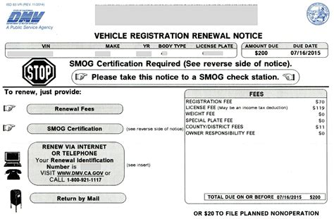boat registration fees in california vehicle registration renewal notice youtube