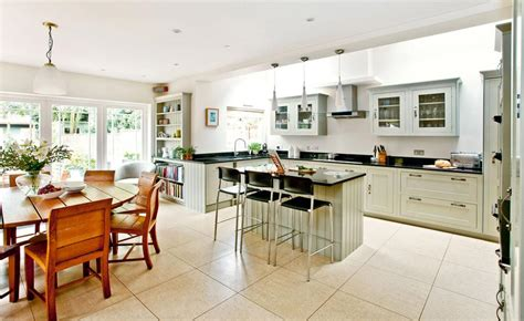kitchen diner flooring ideas how to create an open plan house on help decorating long