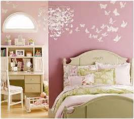 butterfly bedroom ideas little girls room decor simple home decoration