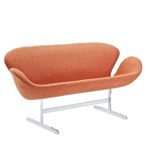 Swan Sofa Reproduction by Arne Jacobsen Swan Sofa Two Loveseat Modern In