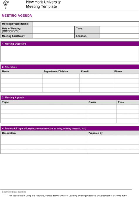 minutes exle templates meeting minutes template for excel pdf and word