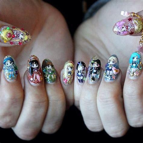 Accessories Nail Designs by Sailor Moon Nail Decals Nail Nail Accessories Nail By