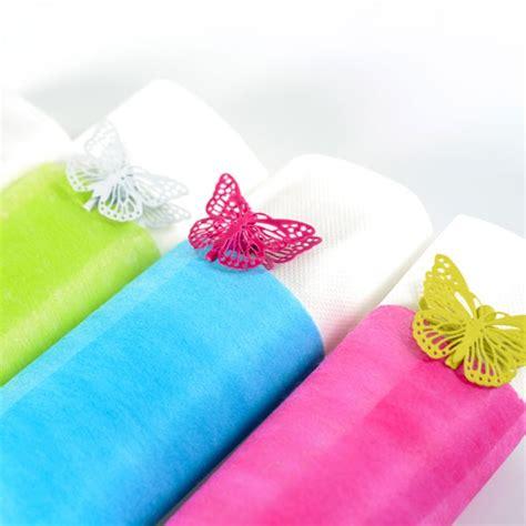 tischdeko vlies servietten tischband quot vlies quot creme hochzeitsdeko