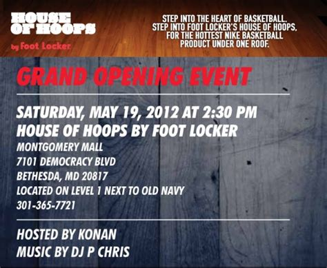house of hoops locations house of hoops grand opening in bethesda md sneakerfiles