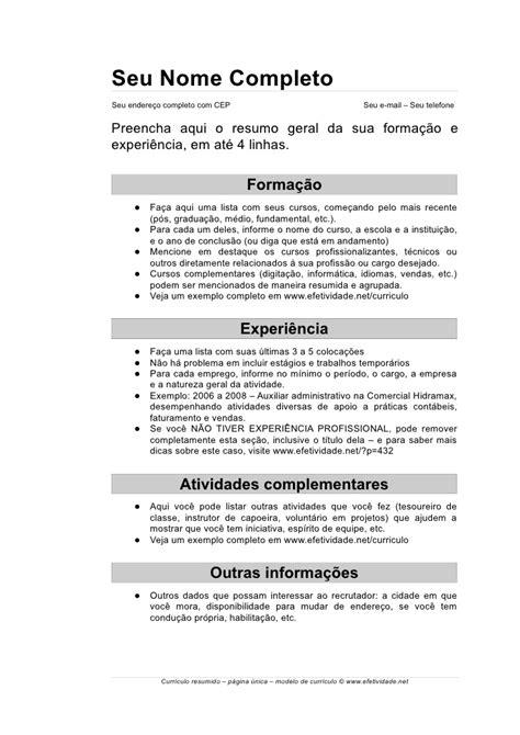 Modelo Curriculum Asistente Administrativo curr 237 culo auxiliar administrativo modelo pronto dicas atuais