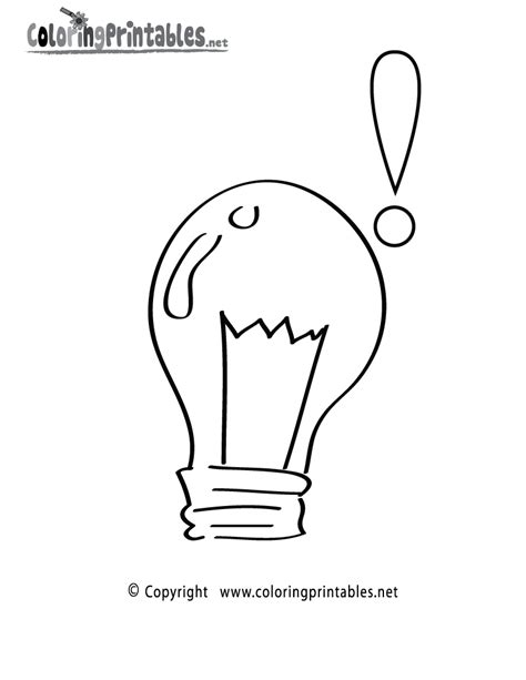 Free Printable Light Bulb Coloring Page Free Pictures To Color Bulbs Coloring Pages by Free Printable Light Bulb Coloring Page