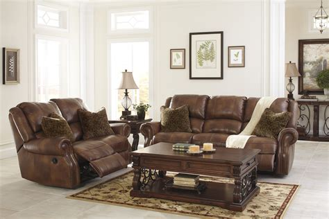 Set Of Living Room Chairs Buy Furniture Walworth Auburn Reclining Living Room Set Bringithomefurniture