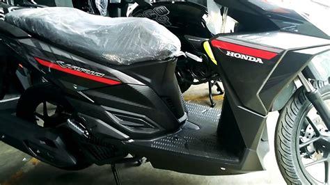 Honda Vario 125 Cbs honda vario 125 cbs titanium black 2017
