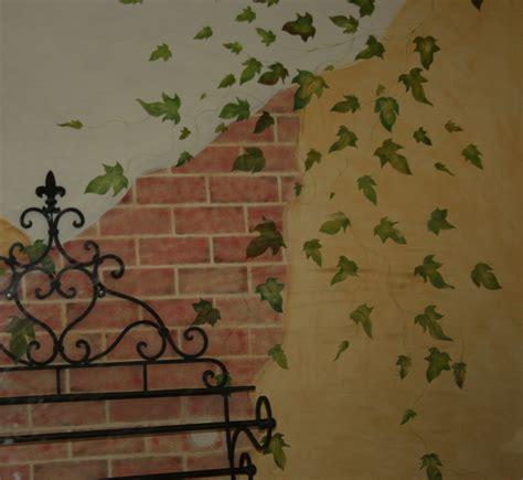 fake exposed brick wall faux brick wall tempting thyme