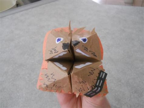 Origami Wookiee - wookie search results origami yoda page 6