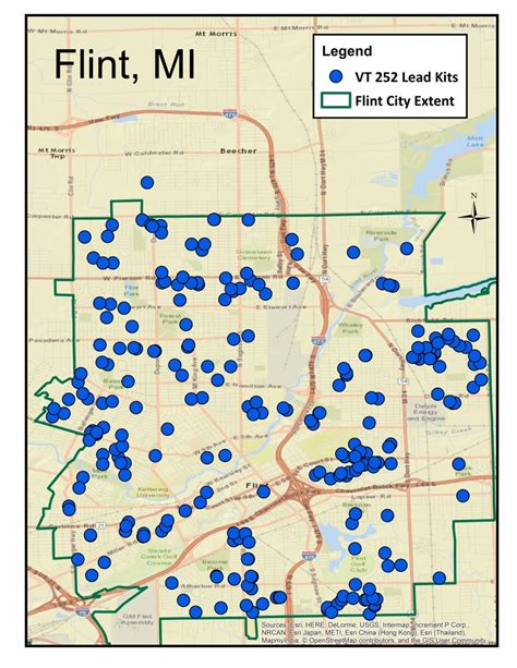 where is flint on map flint town meeting presentation and distribution of