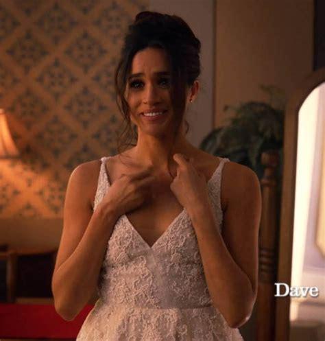 Meghan Markle looks stunning in teasing wedding dress trailer   Daily Star