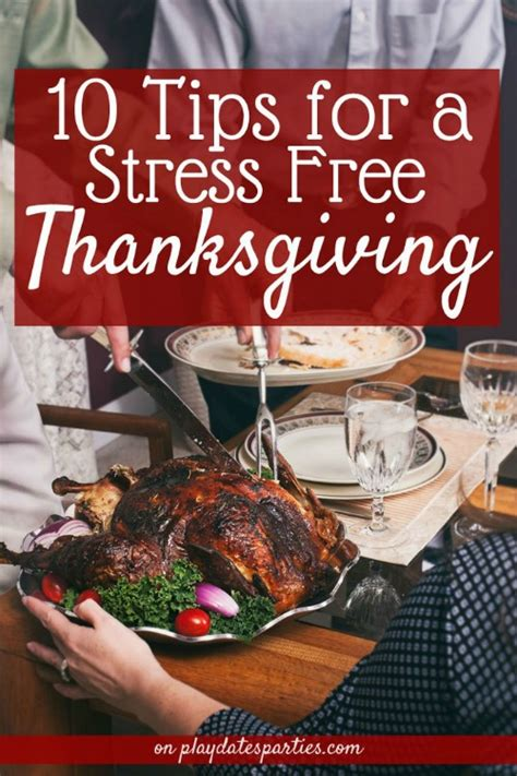 6 Tips For A Stress Free Thanksgiving by Home Matters Linky 160 With Lorelai