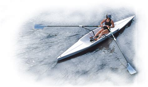 row boat single sprint recreational rowing shell little river marine