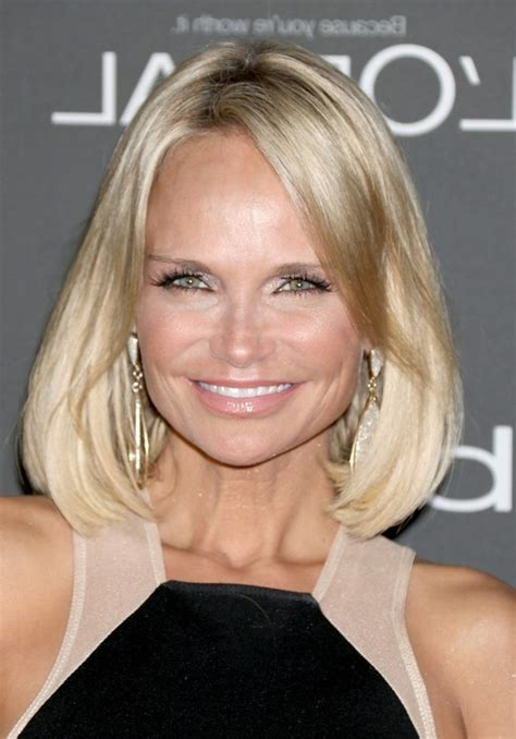 blonde women of the 40 kristin chenoweth blonde bob haircut for women over 40