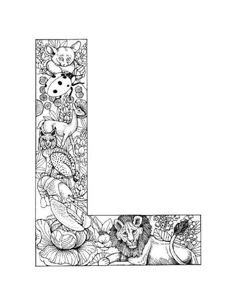 l coloring page free printable letter l coloring pages coloring home