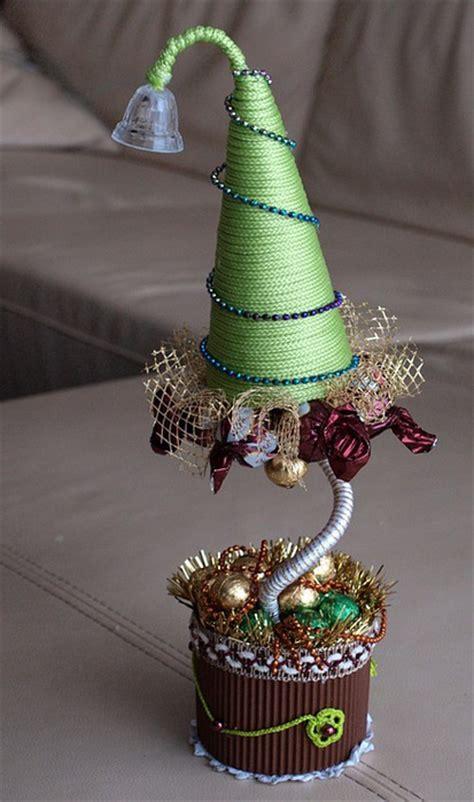 diy christmas topiary trees  perfect decor  christmas gift idea