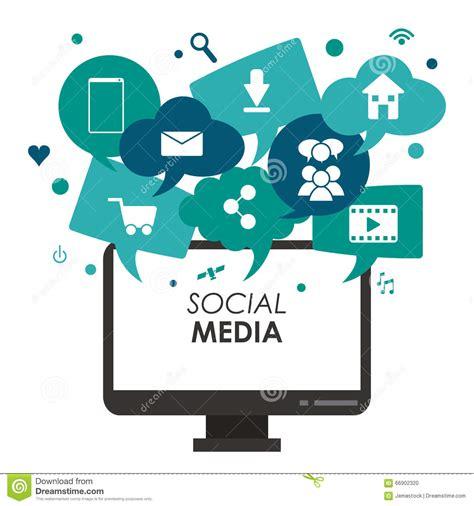 design graphics for social media social media design stock vector image 66902320