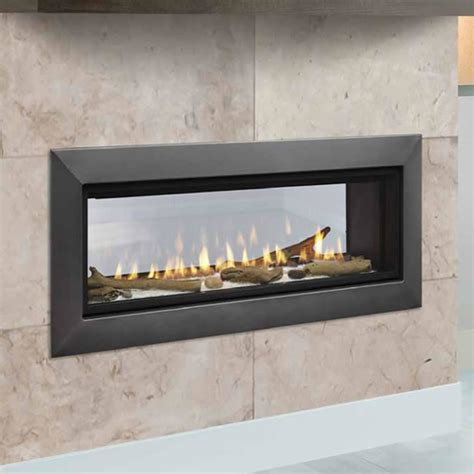 wide view echelon ii see thru fireplace by majestic