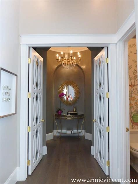 arched nook transitional entrance foyer caitlin wilson - Foyer Nook