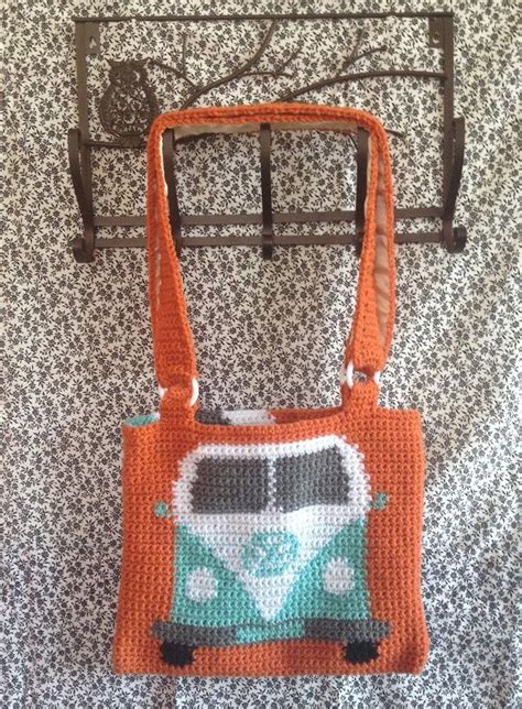 vw crochet bag pattern 17 best images about big crochet bags on pinterest
