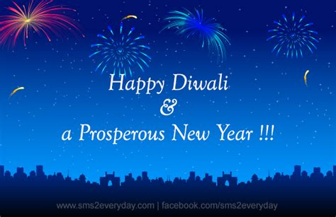 happy diwali a prosperous new year sms2everyday