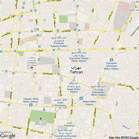 tehran map map of tehran iran hotels accommodation