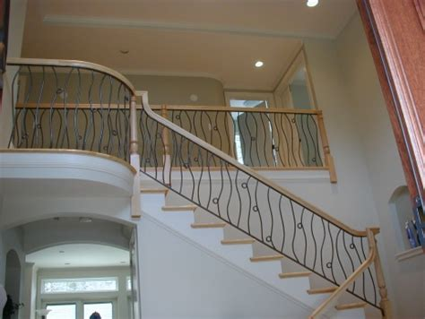 New Banisters by Boston Blacksmith Custom Iron Railings And Gates In