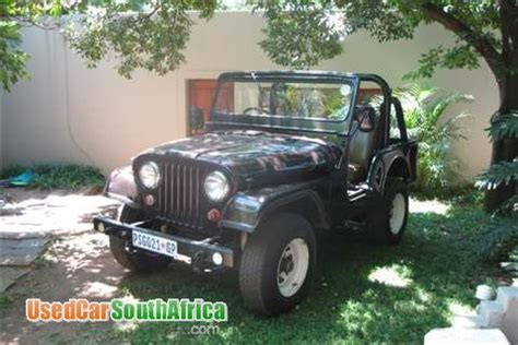 Jeep For Sale In South Africa 1950 Jeep Willys Used Car For Sale In Pretoria East