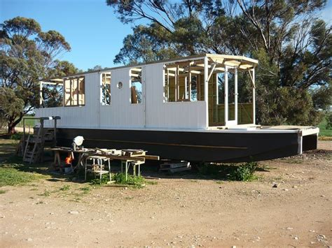 living on a houseboat in australia houseboat building in australia build a houseboat