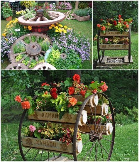 Wagon Wheel Decor Garden 25 Best Wagon Wheels Ideas On Pinterest Wagon Wheel Decor Wagon Wheel Garden And Wagon Wheel