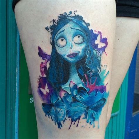corpse bride tattoo another corpse tattoos brides
