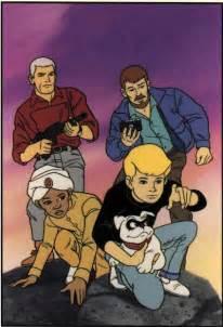 film kartun jonny quest jonny quest drawn to adventure
