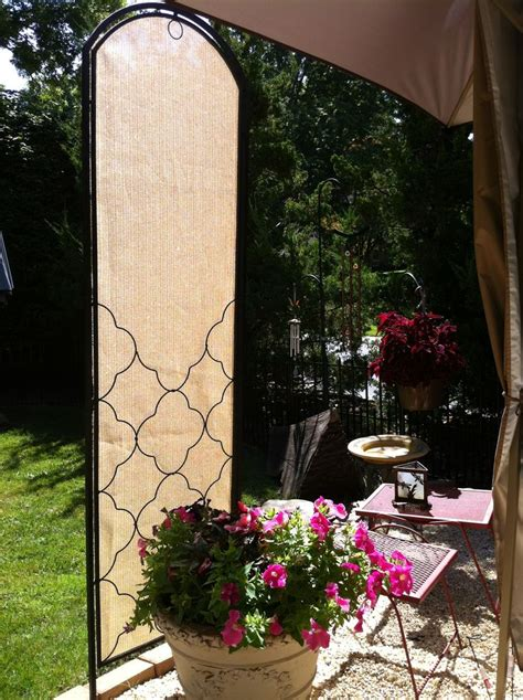 voila diy portable patio shade screen works for privacy