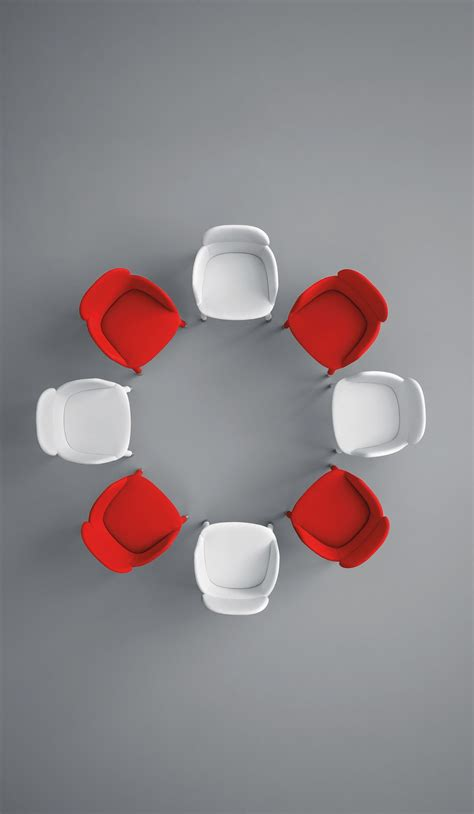 ester chairs  top view white  red love   stuff   love   sedie