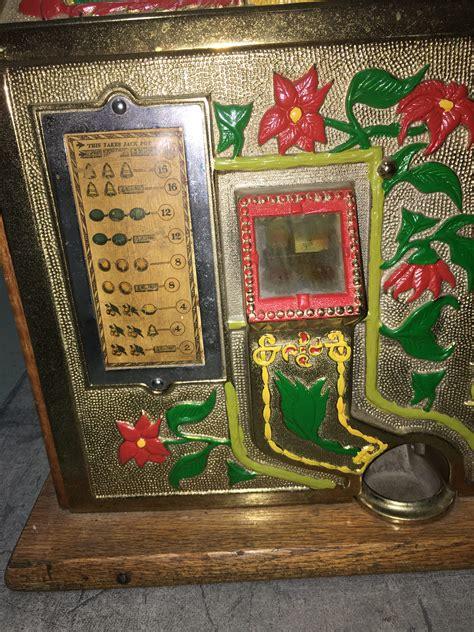 mills golden poinsettia bell slot machine gameroom show