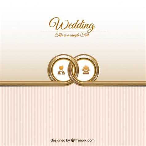 wedding ring templates free wedding card template vector free